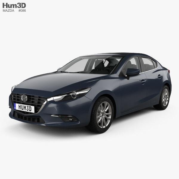 Mazda 3 BM sedan with HQ interior 2017