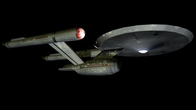 USS Enterprise from Discovery