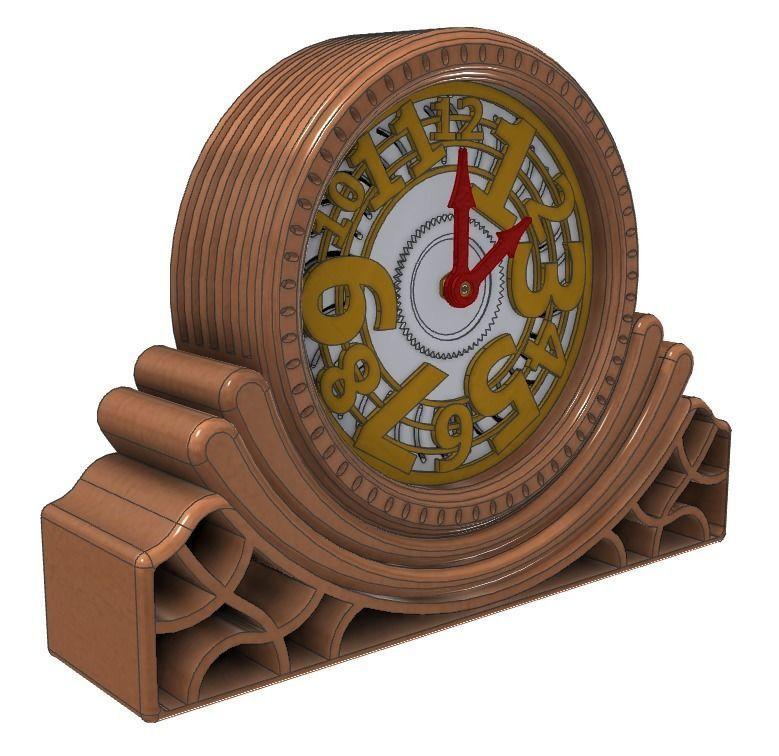 Contemporary Desk Clock - Design G