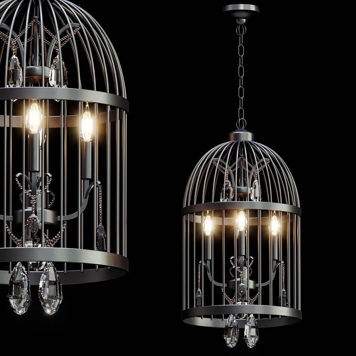Beautiful Bird Cage Chandelier