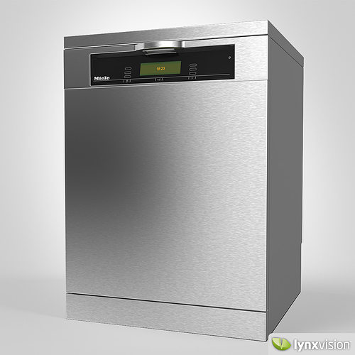 miele dishwasher 3d model cgtrader. Black Bedroom Furniture Sets. Home Design Ideas