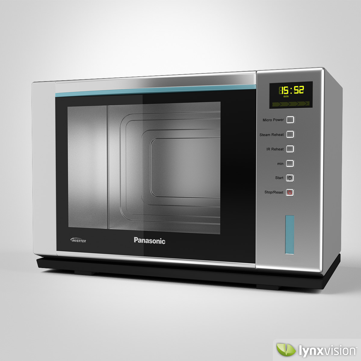 3d Model Panasonic Microwave Steam Oven Cgtrader
