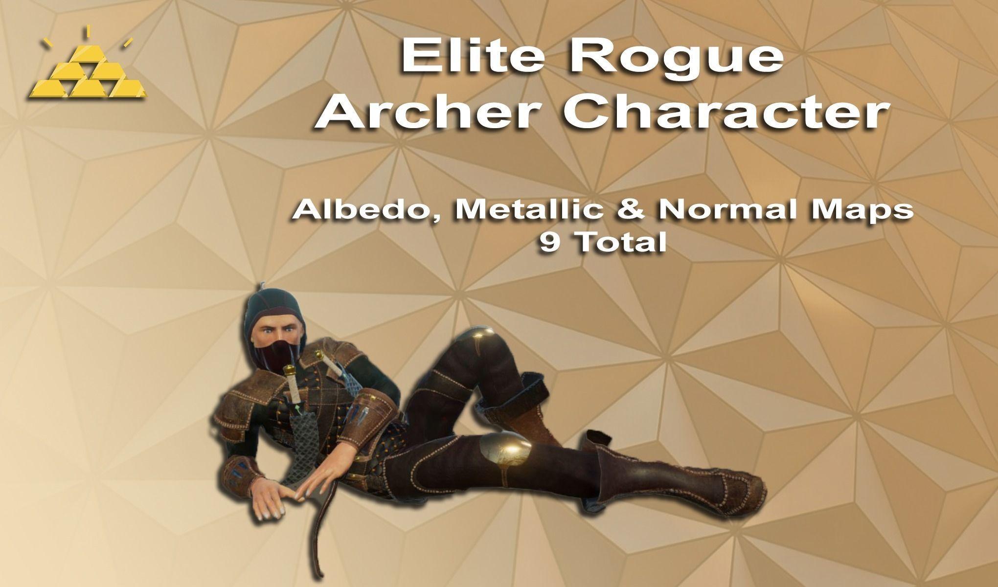 Elite Rogue Archer Character