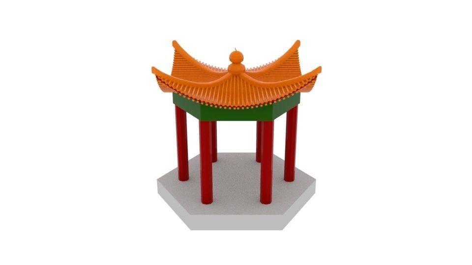 Chinese Culture Gazebo