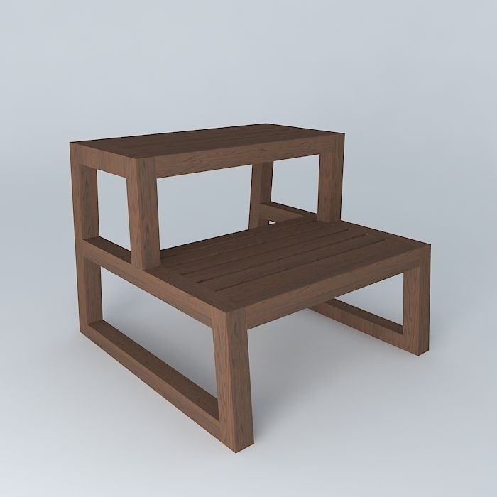molger step stool dark 3d model max obj 3ds fbx stl skp 1 ... & 3D model MOLGER step stool dark | CGTrader islam-shia.org