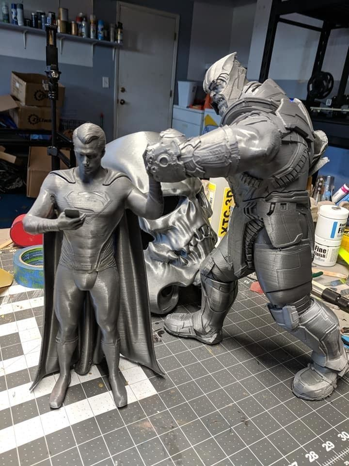 Superman Vs Thanos STL