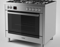 bosch range cooker 3d
