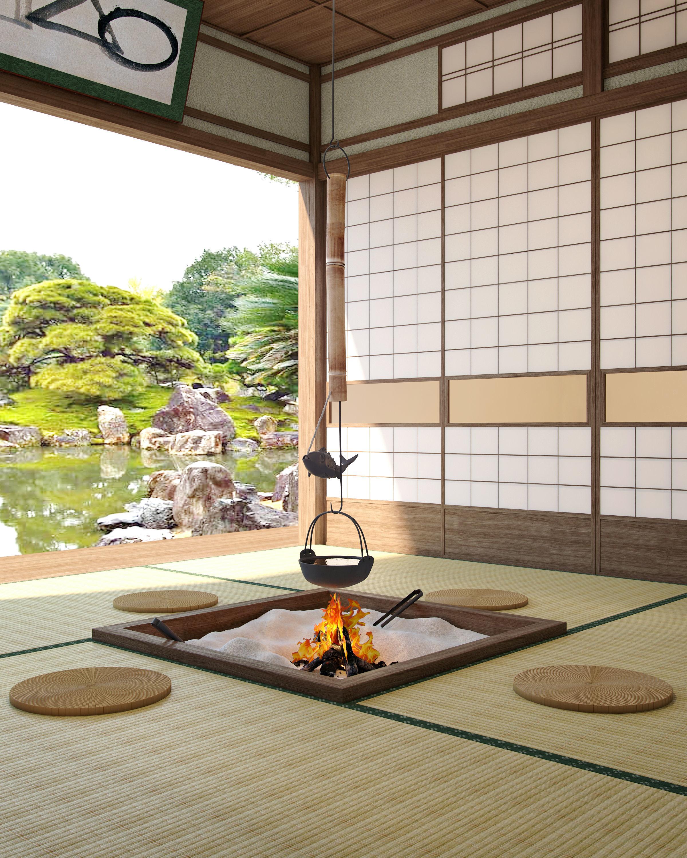 Japanese Tea Room 3d Model