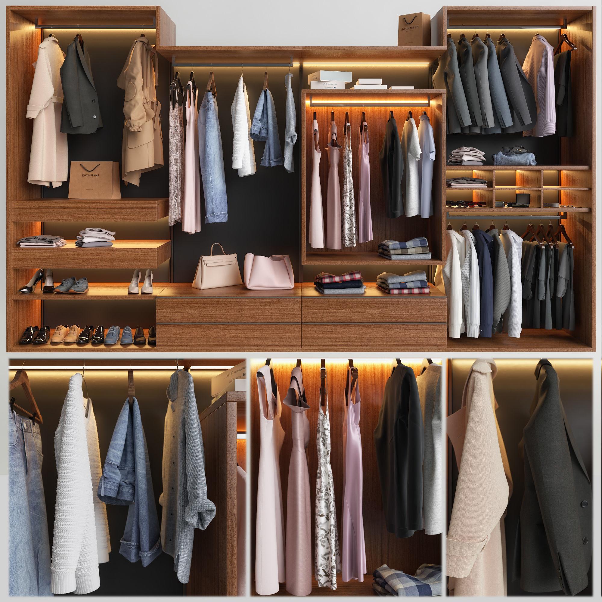 Wardrobe Presotto