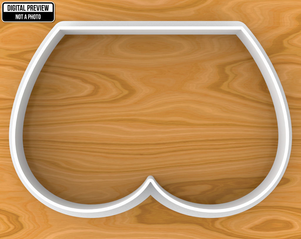 Tushie Cookie Cutter