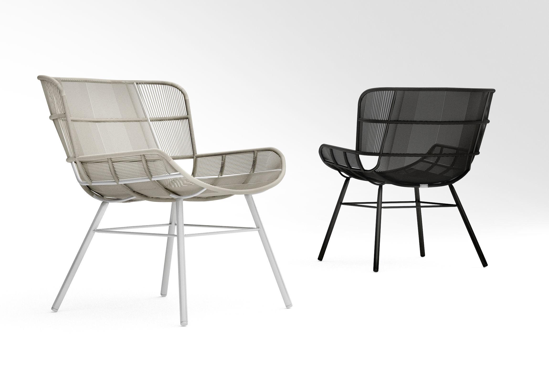 Coco Republic Amalfi outdoor lounge chair