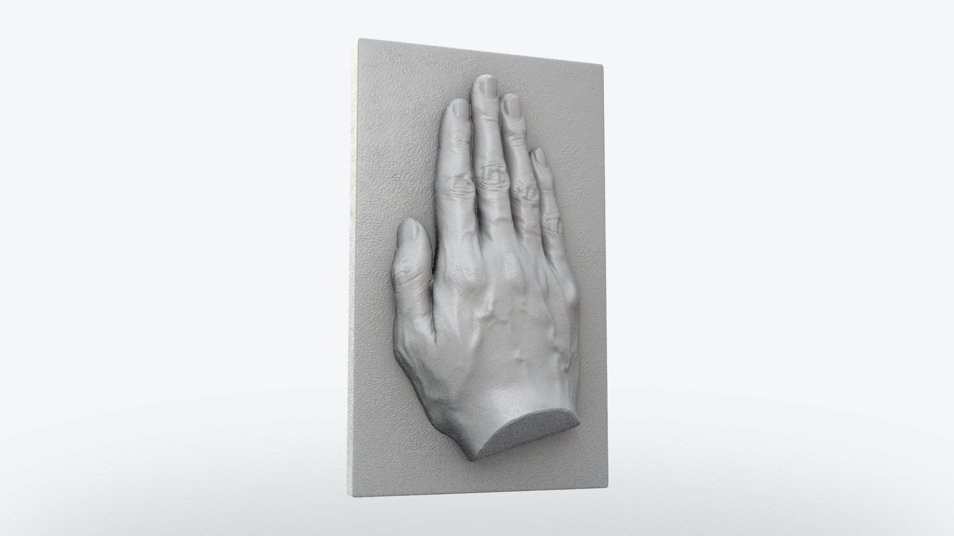 Hand Plate Decor 3d Print Model