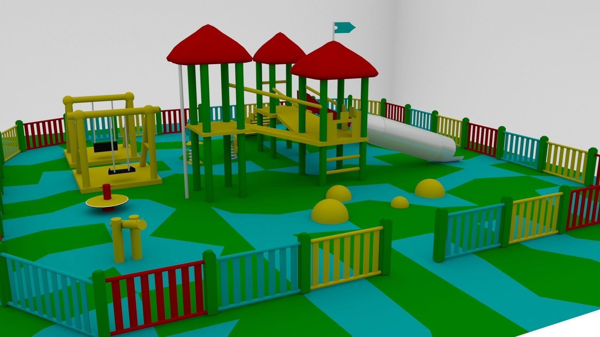 Simple Children Playground 01