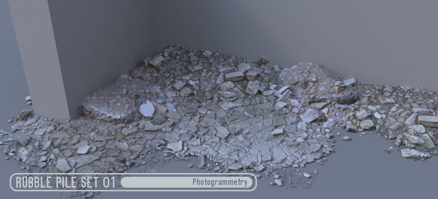 Rubble Pile Set 01
