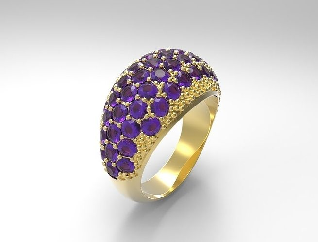 ring 3d model stl 3dm 1