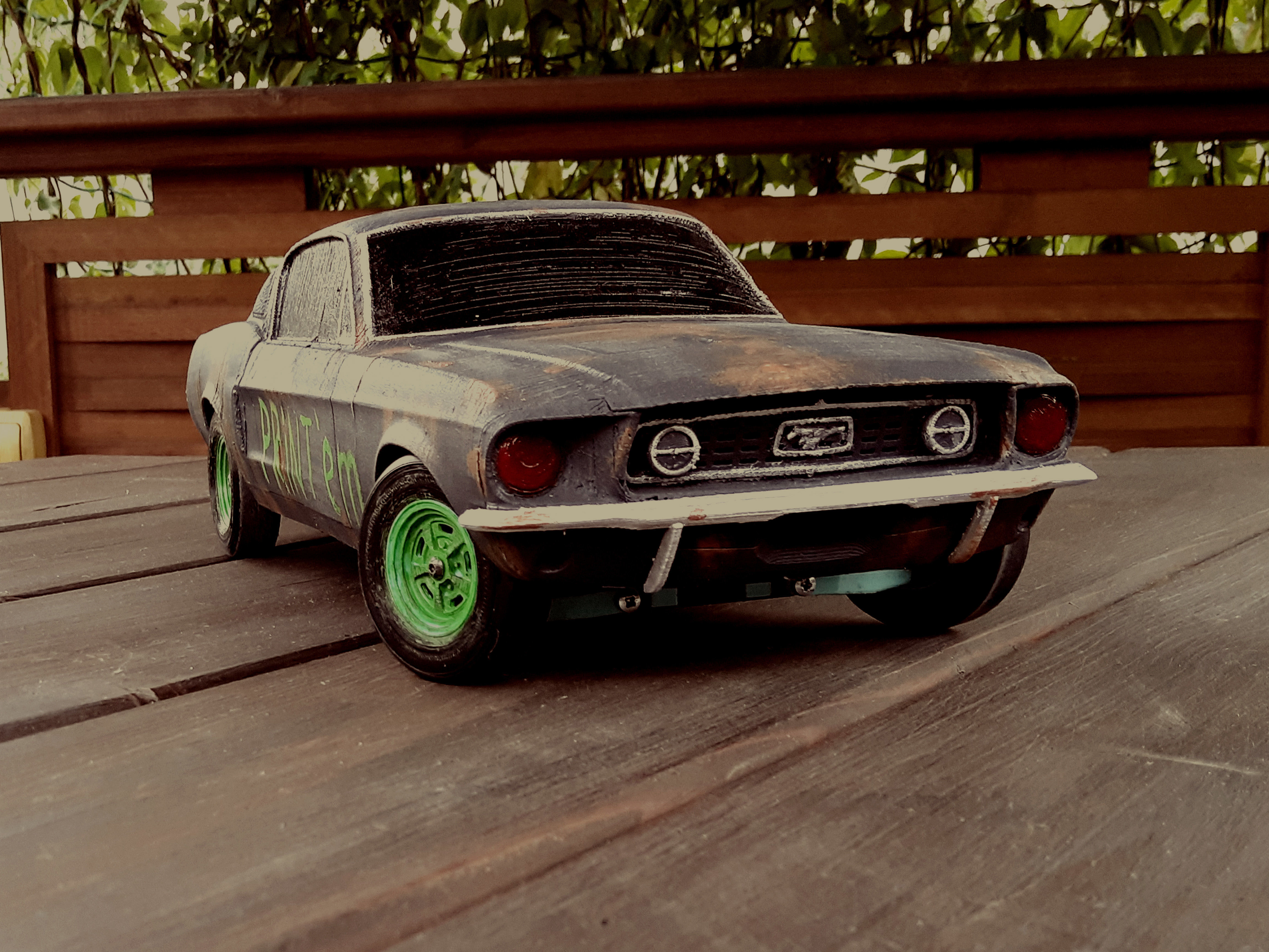 1-12 RC Muscle Car
