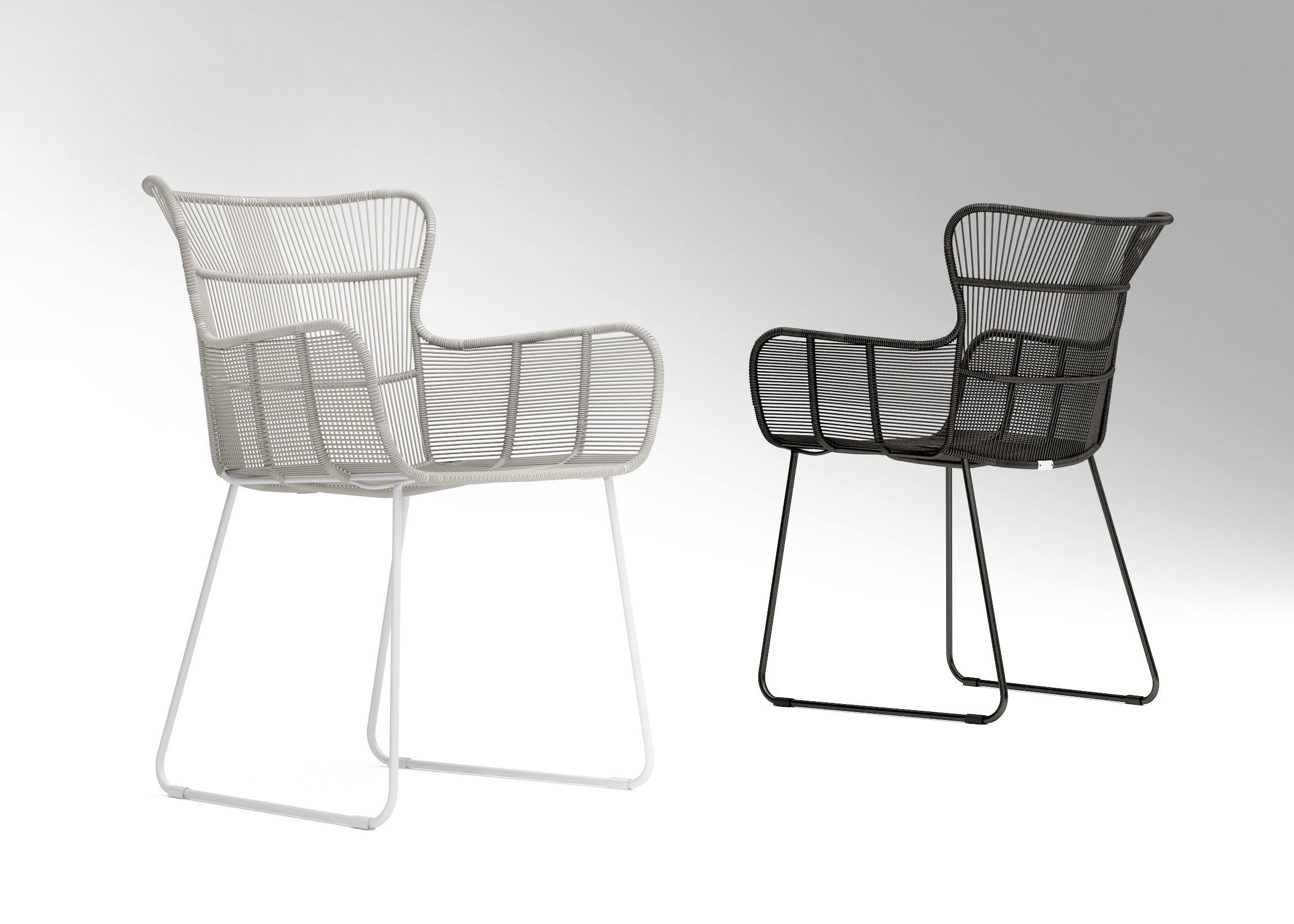 Groovy Coco Republic Amalfi Outdoor Dining Chair 3D Model Ibusinesslaw Wood Chair Design Ideas Ibusinesslaworg
