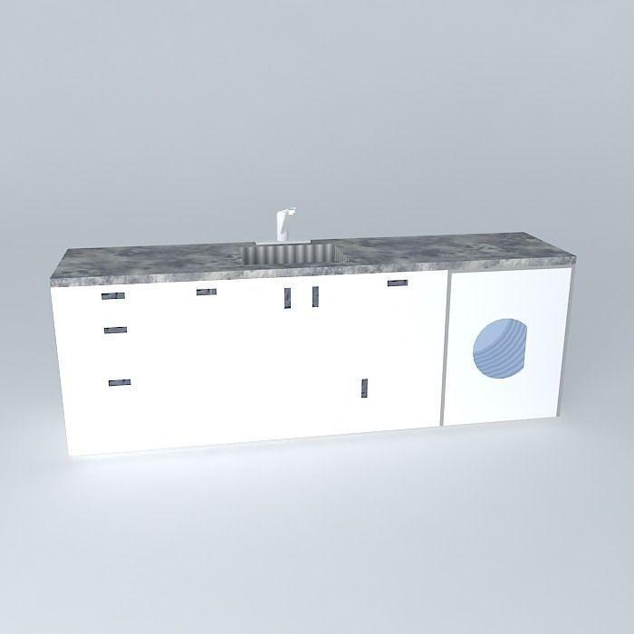 kitchen cabinet free 3d model max obj 3ds fbx stl skp modern white kitchen cabinet free 3d model max obj 3ds fbx