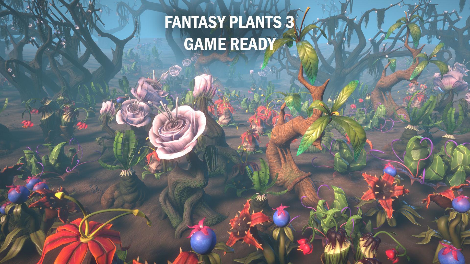 Fantasy plants 3