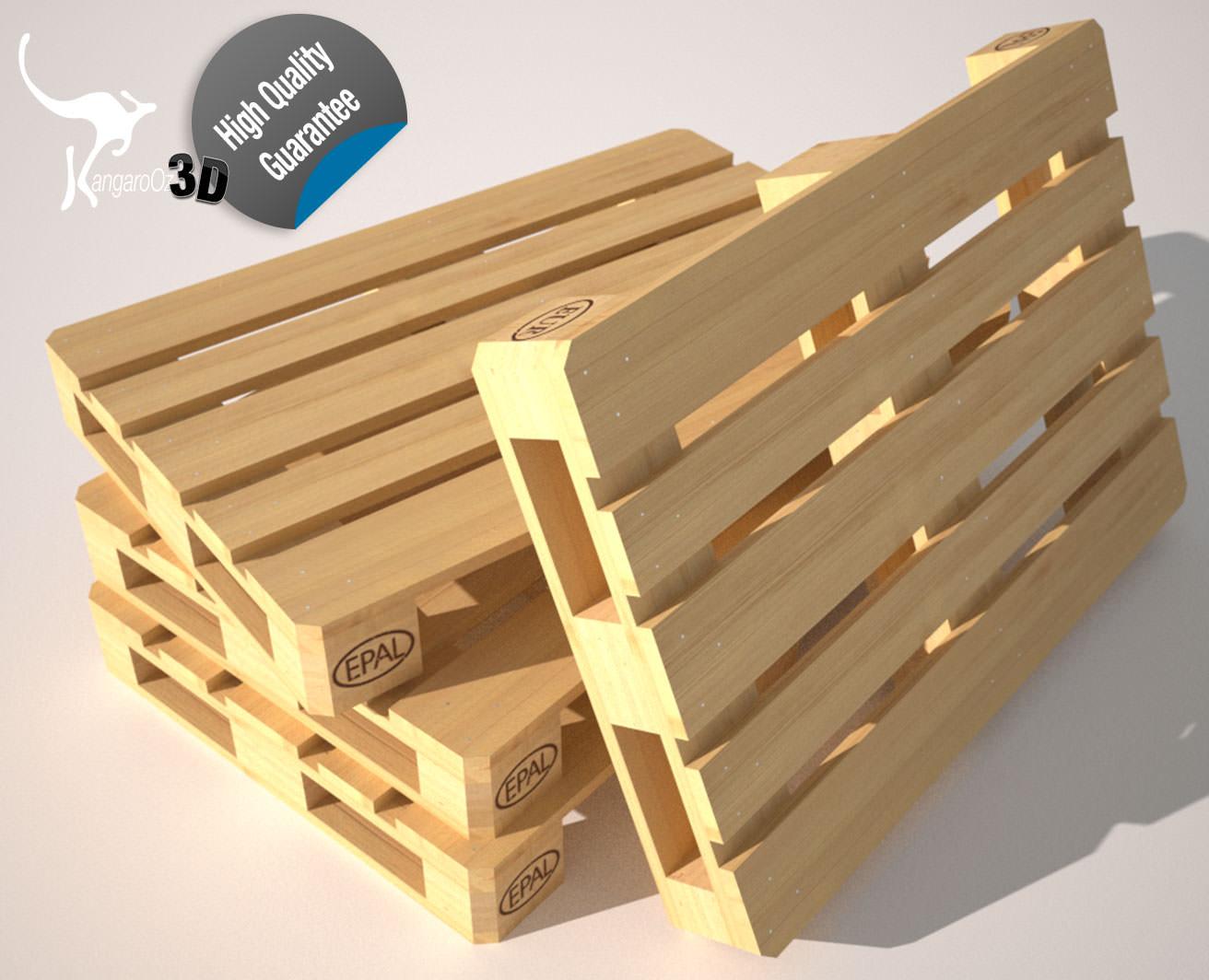 Wood Pallet EUR EPAL