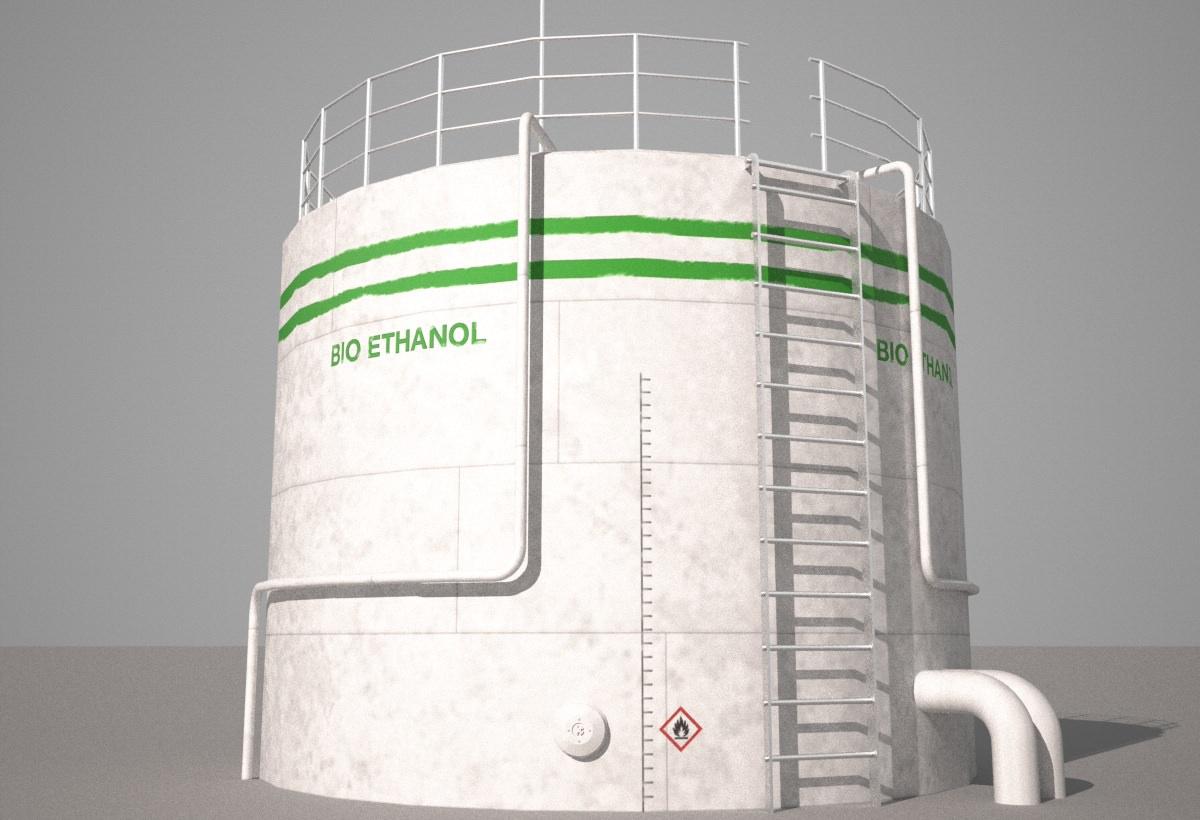 3d model bio ethanol tank vr ar low poly obj 3ds fbx hrc xsi dae skp. Black Bedroom Furniture Sets. Home Design Ideas