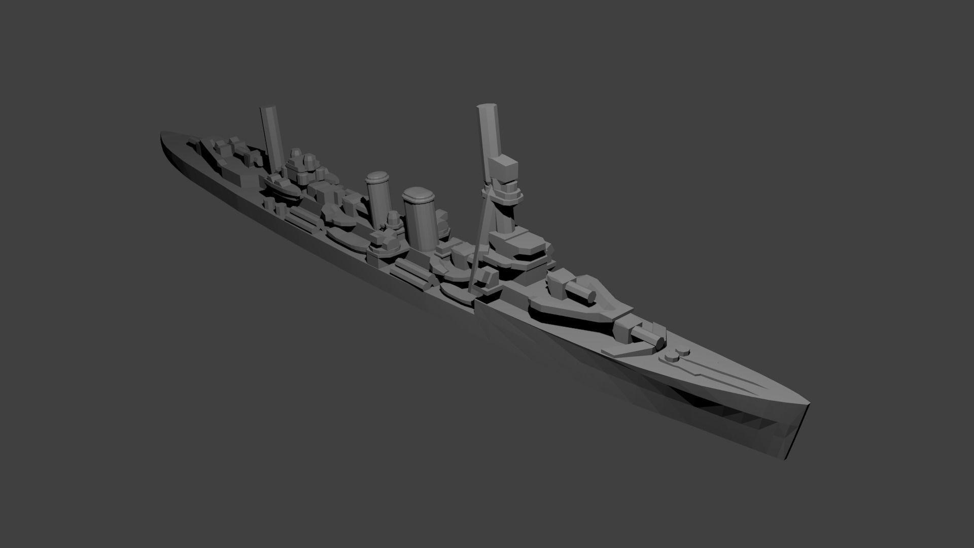 British Danae-Class Cruiser