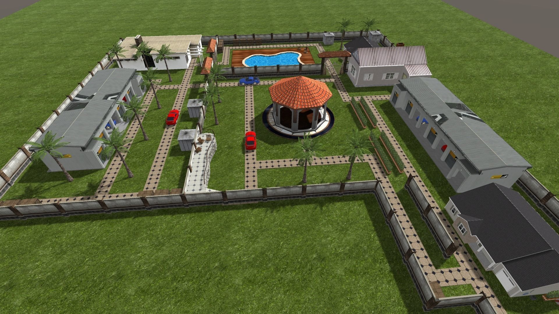 Farm house 3d Environment Unity