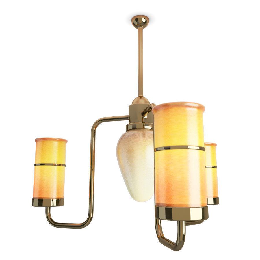Antique Orange Ceiling Lighting
