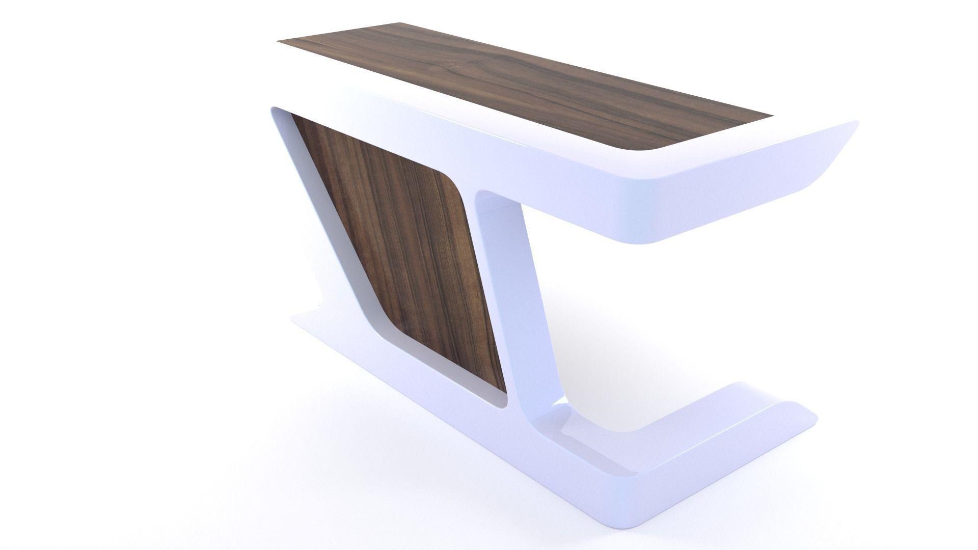 Modern Executive Desk - 3ds Max