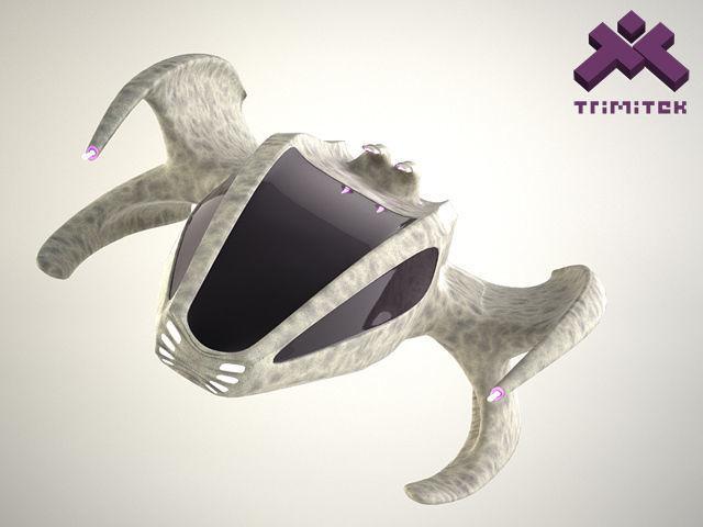 Alien Spaceship - small escape pod