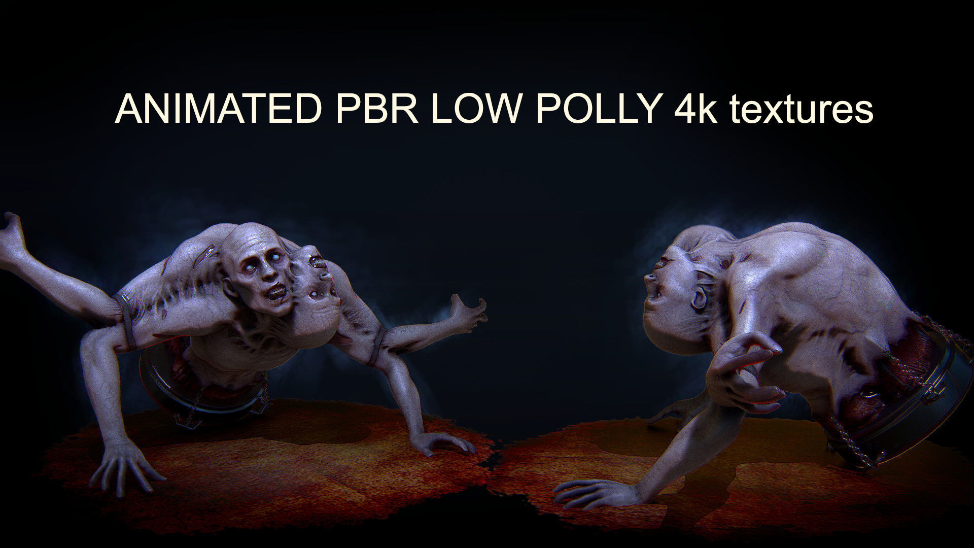 DUO HORROR PBR ANIMATED