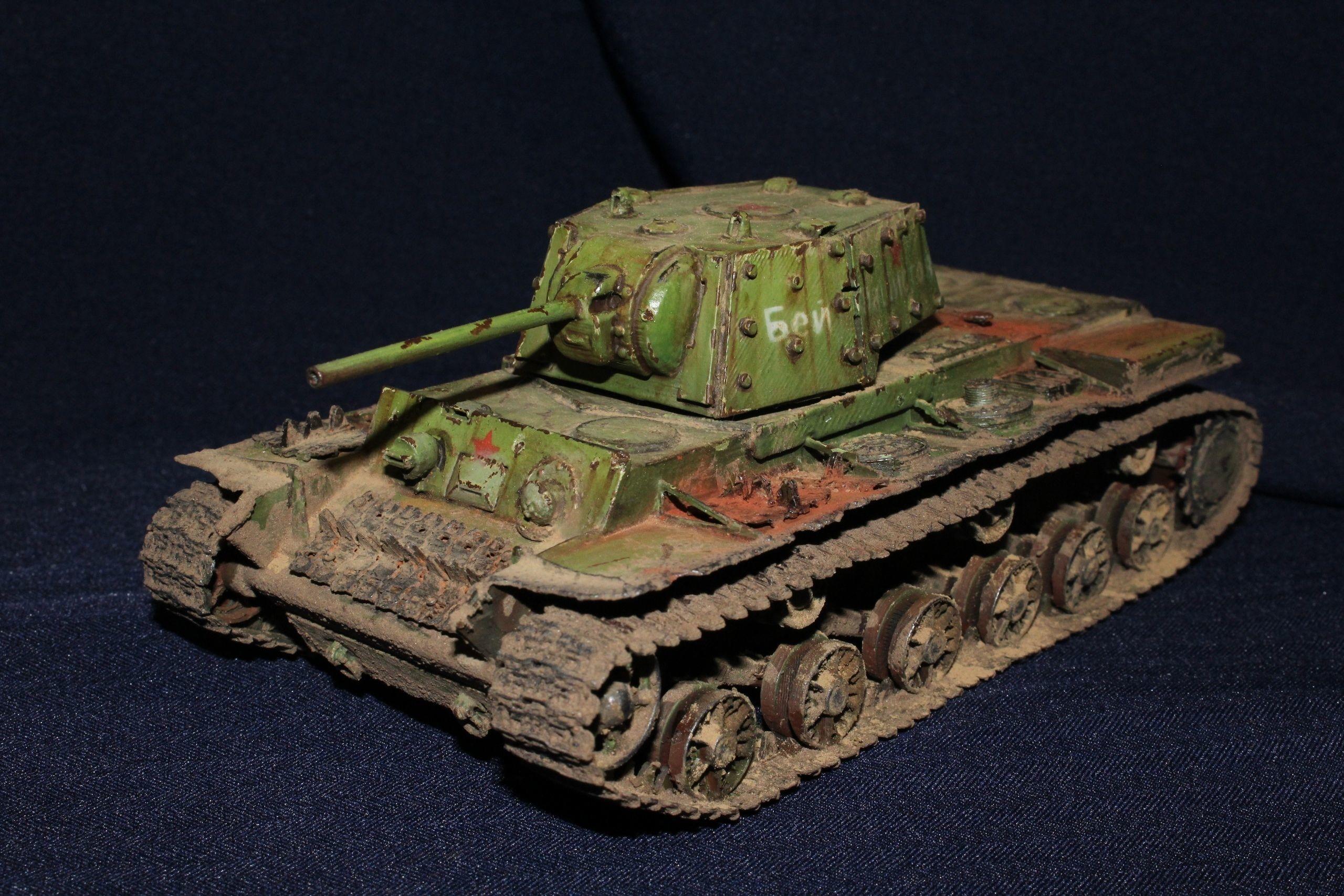 photo relating to Printable Tanks titled KV 1 Tanks 3D Print Design