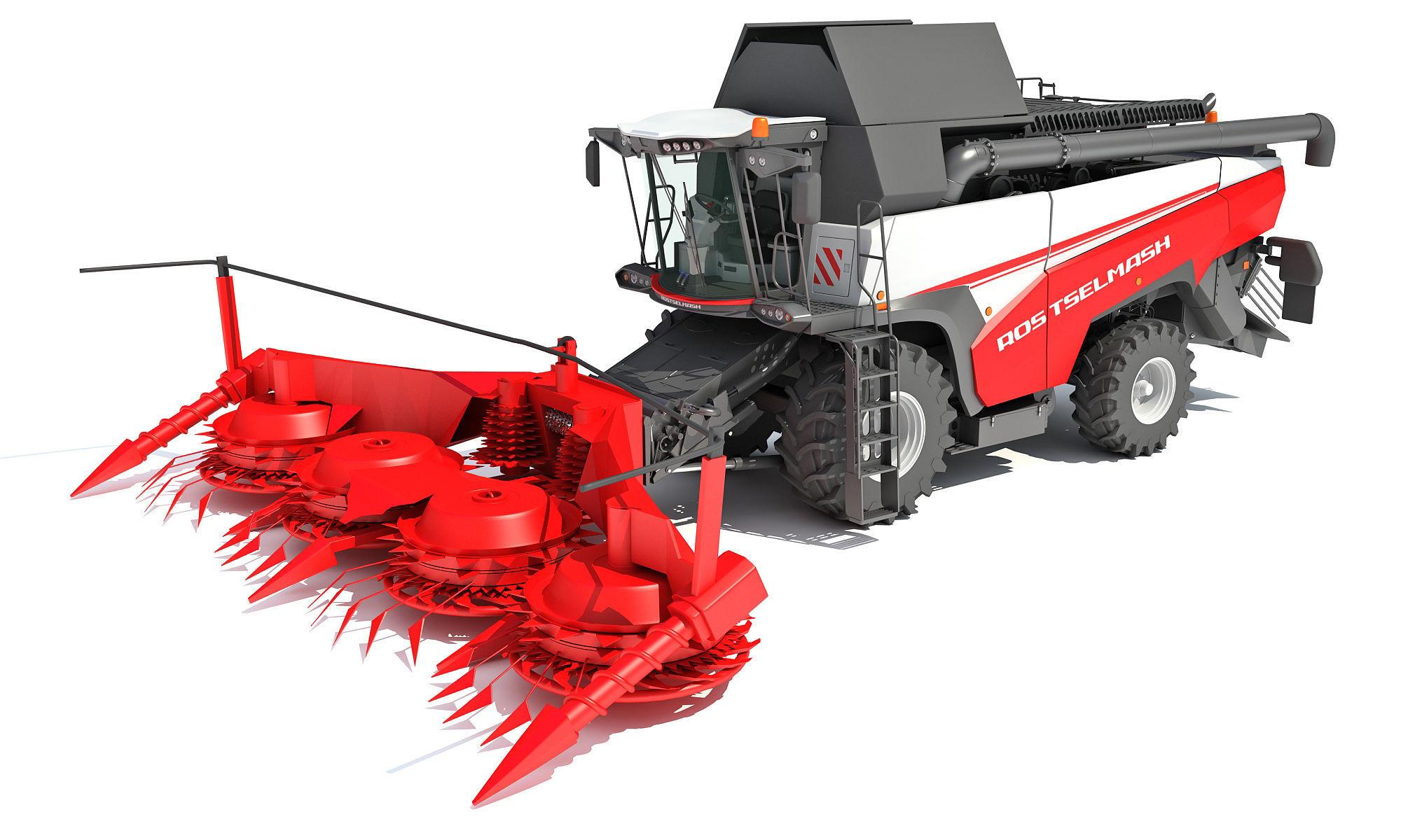 Forage Harvester Combine Rostselmash