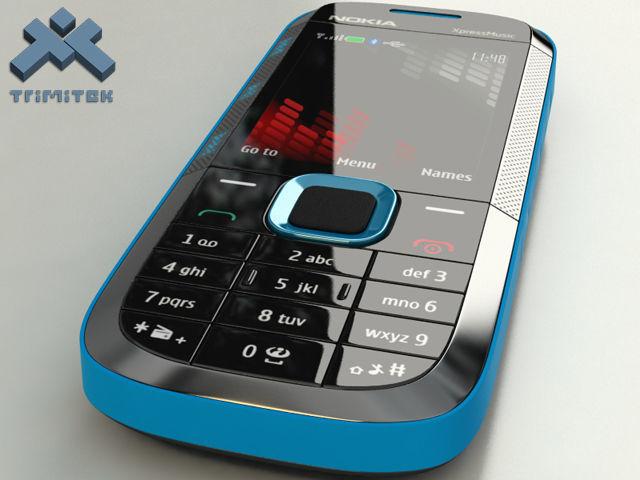 Nokia 5130 XpressMusic - 2009 - blue