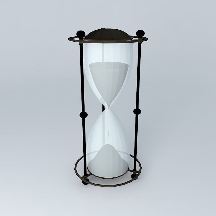Hourglass 3D Model .max .obj .3ds .fbx .stl .skp ...