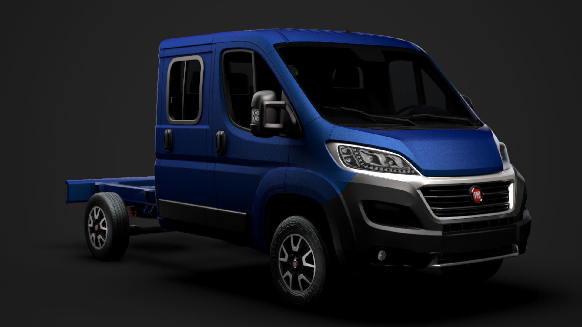 Fiat Ducato Chassis Truck Crew Cab 3450 WB 2020