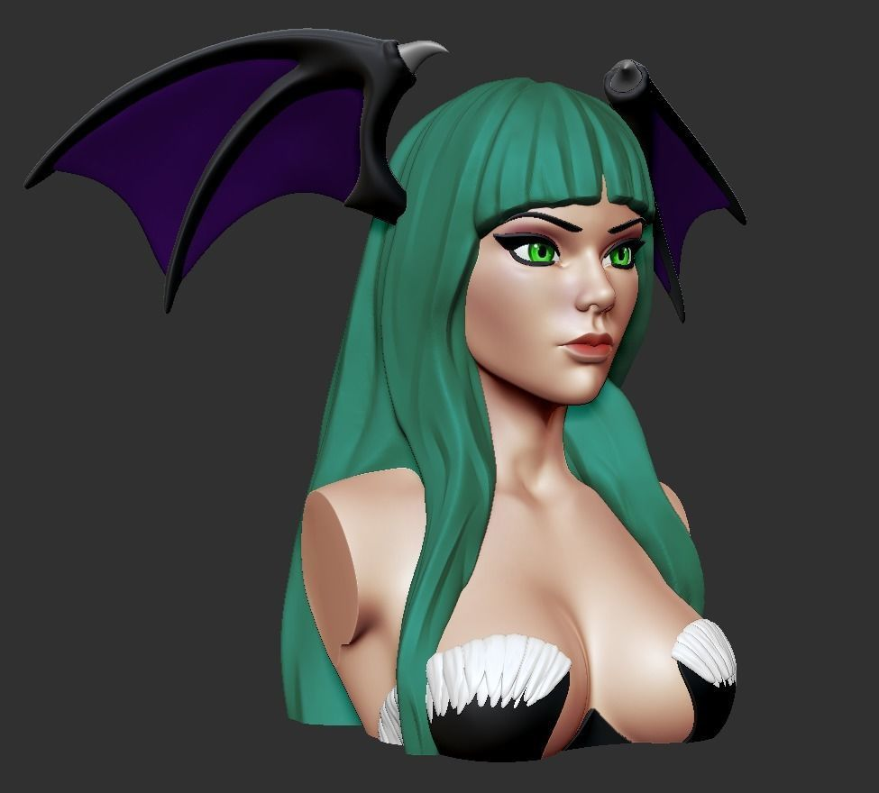 Bust - Morrigan Aensland