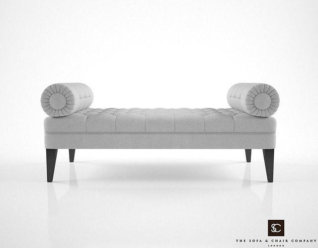 The Sofa And Chair Company Milton Bench Model Max Obj Mtl Fbx 1
