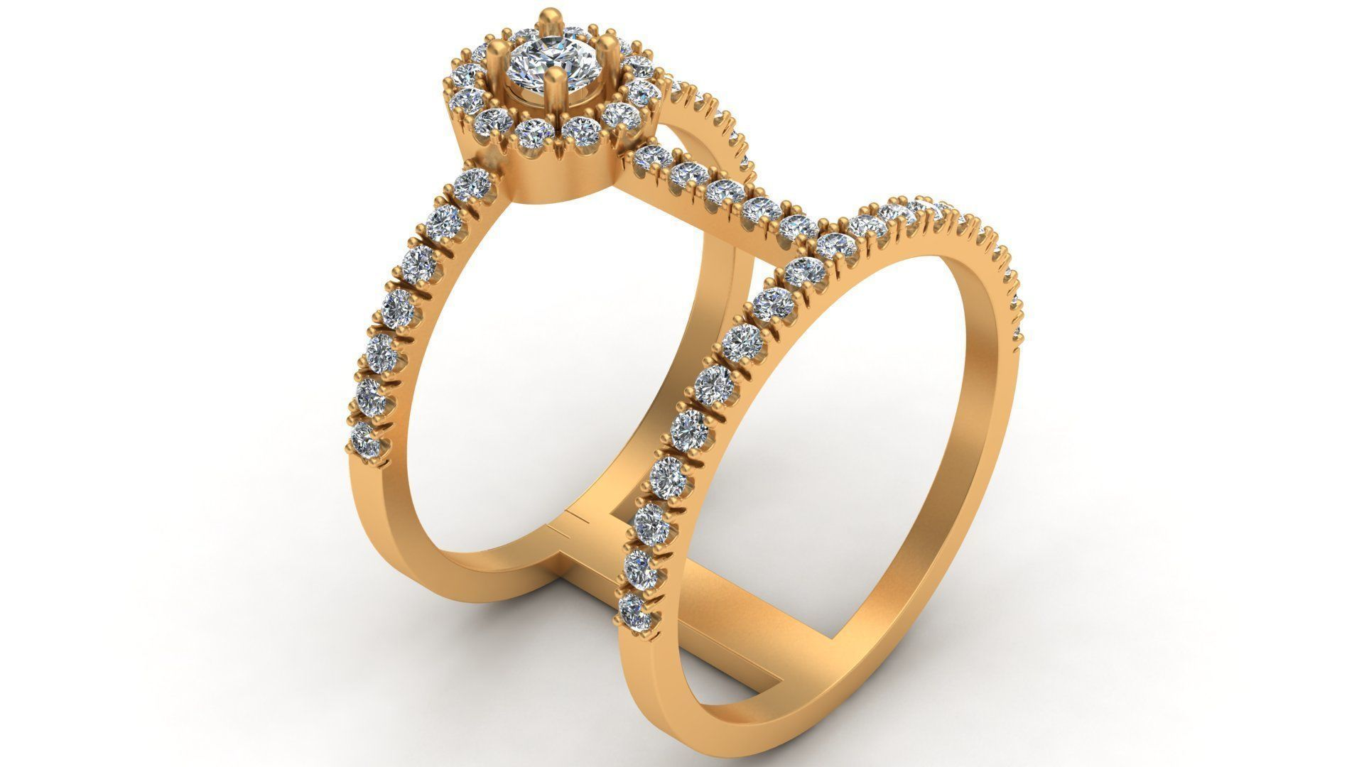 Messika Woman Diamond Gold Ring