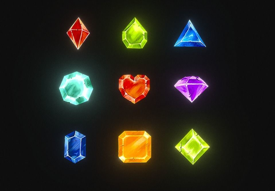 Gem Stone Collection - Lowpoly