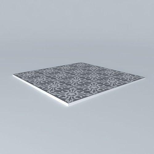 beautiful tiles 3d model max obj 3ds fbx stl skp 1