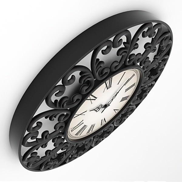 Decorative Wall Clock Model : Decorative wall clocks nr d model max obj ds lwo lw