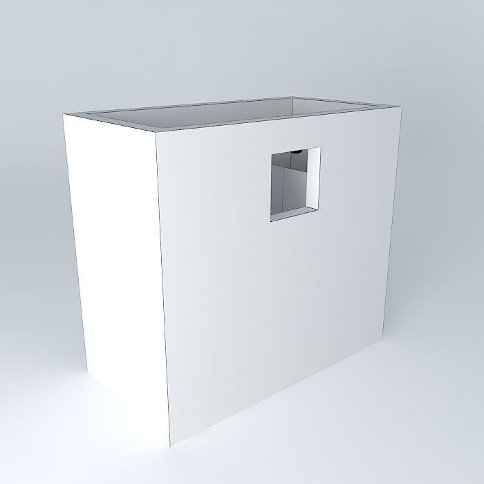 Full bathroom 2 2m x free 3d model max obj 3ds for Bathroom design 2m x 2m