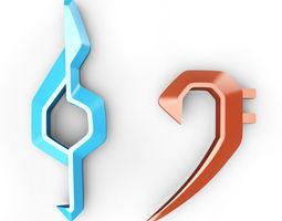 3D printable model Clefs symbols