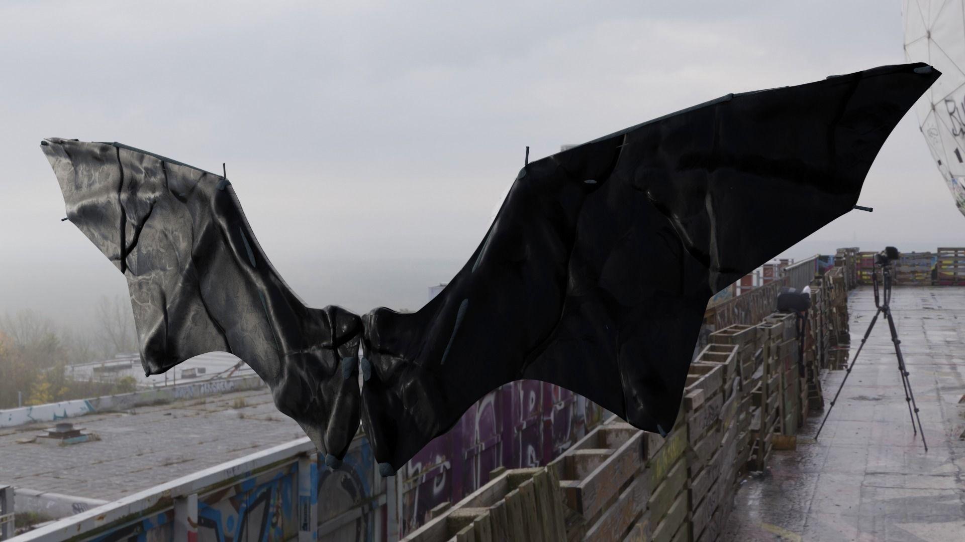 Nightmare Wing Bat Demon Creature