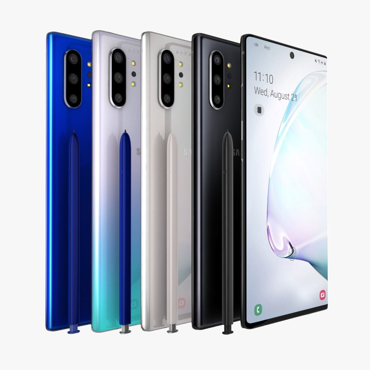Samsung Galaxy Note 10 Plus Full Color