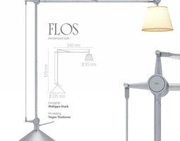 3D model Flos Archimoon soft