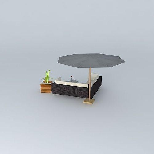 the bali garden furniture 3d model max obj 3ds fbx stl skp 2. The Bali garden furniture 3D Model MAX OBJ 3DS FBX STL SKP