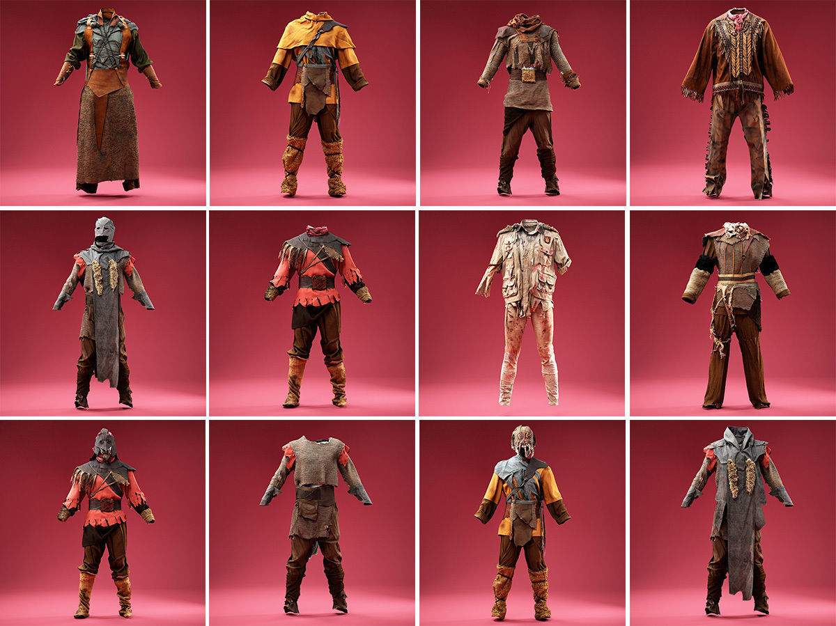 12 Hunter and Knight Costumes