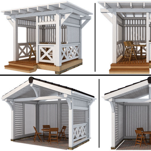Arbor in a modern style 2 options